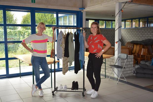 Overtollige kleren aan zacht prijsje te koop op Ladies Closet Sale in Oostende