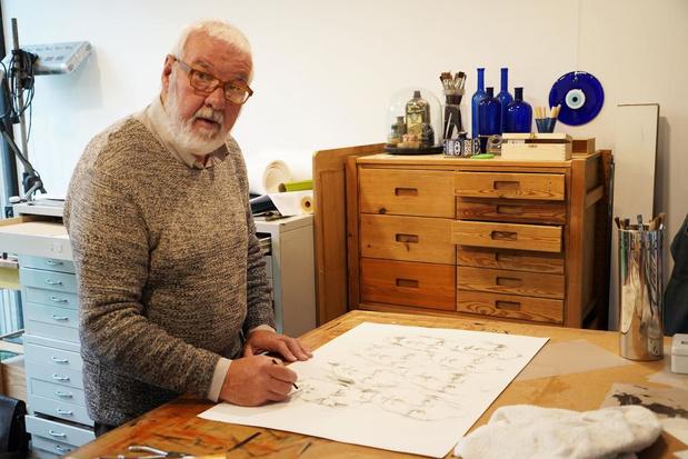 Filip Bisschop uit Meulebeke neemt voor het eerst deel aan Buren bij Kunstenaars