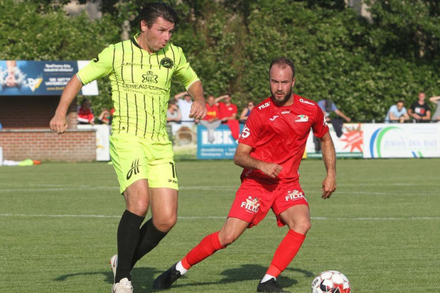 KSKV Zwevezele kopje onder tegen Mandel United