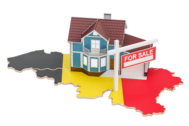 Vastgoedprijzen dalen nooit, denkt de Belg