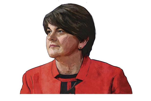 De Iron Lady van Noord-Ierland