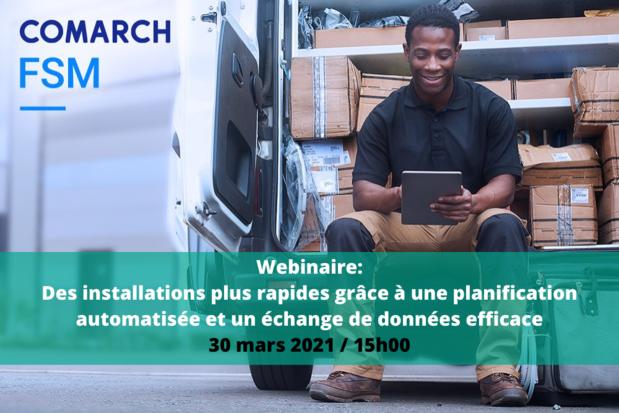 Webinaire gratuit : des installations plus rapides grâce à une planification automatisée et un échange de données efficace