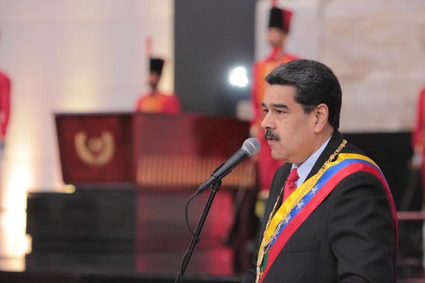 Maduro annuleert deelname aan dialoog met oppositie uit protest tegen nieuwe VS-sancties