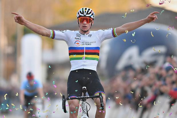 Mathieu van der Poel pakt derde Europese titel op rij