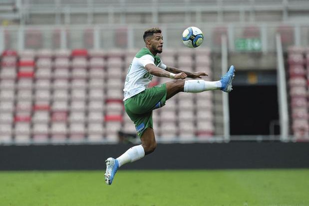 Saint-Etienne rekent tegen Gent op man in vorm Denis Bouanga