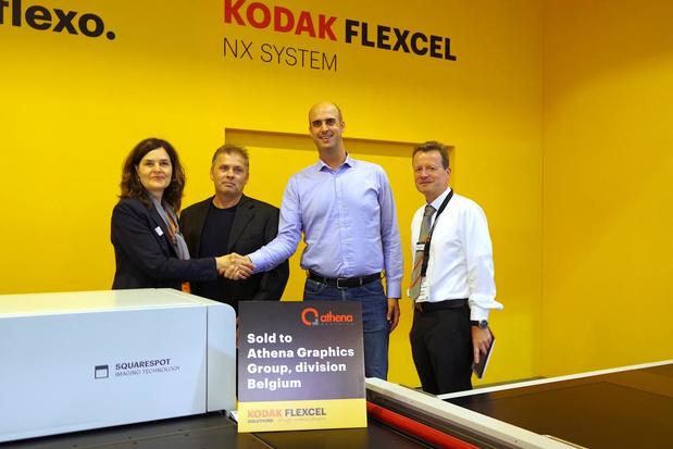 Athena Graphics investeert in tweede Kodak Flexcel NX-systeem van Miraclon