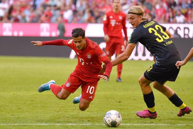 Bayern München rekent tegen Tottenham op lichtpunt Philippe Coutinho