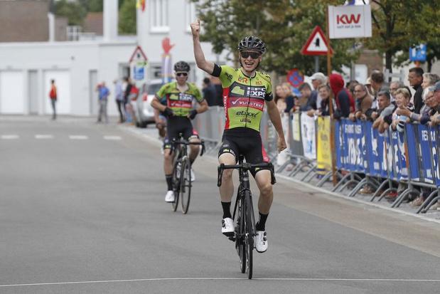 Jordy Bouts wint bij elite zonder contract in Oostduinkerke