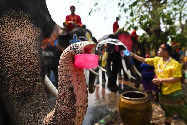 La fête de l'eau en Thaïlande (en images)