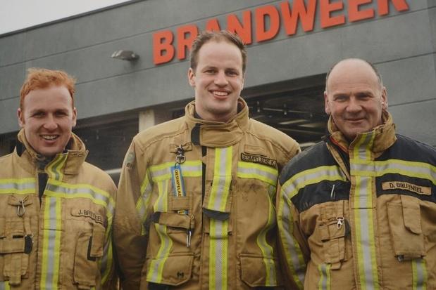 Brandweermannen uit Meulebeke fietsen 905 km naar Dublin voor het goede doel