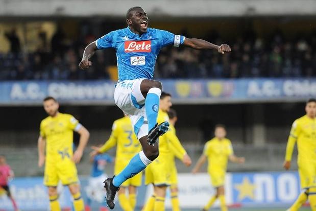 Napoli-verdediger Kalidou Koulibaly stelt titelfeest van Juventus uit