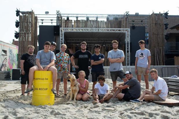JC Ten Goudberge in Wevelgem is klaar voor Beachweekend