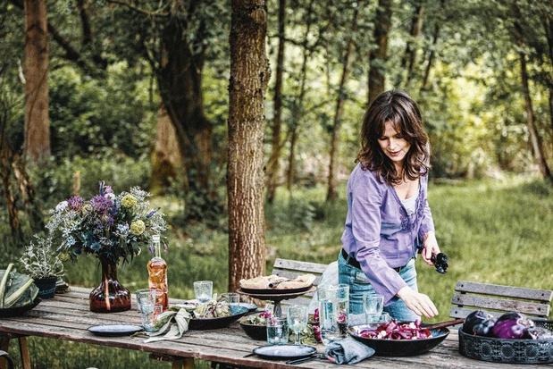 """Pascale Naessens: """"Goed eten maakt gelukkig"""""""