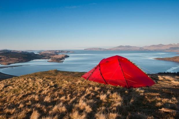 Schotland: de bijna perfecte plaats om je tentje op te zetten