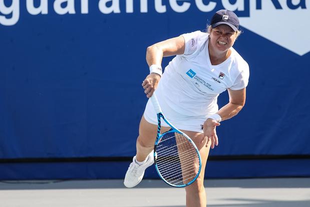 Kim Clijsters, la tête et les jambes