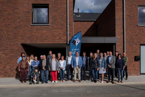 Nieuwe verkaveling Henri Permekeplein in Poperinge ingehuldigd
