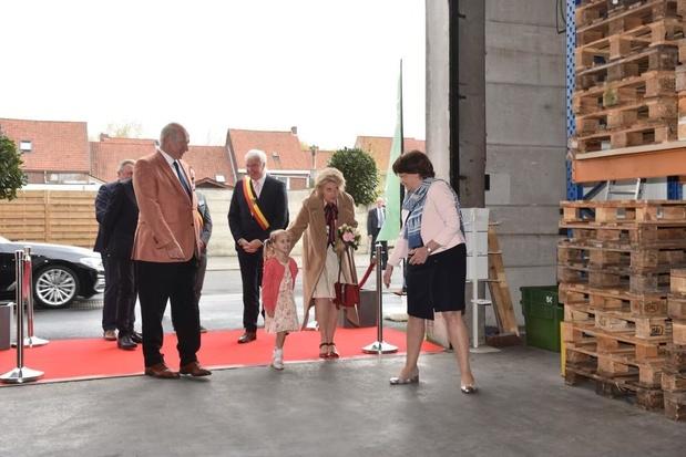 Prinses Astrid bezoekt Voedselbank West-Vlaanderen en Food Act 13 in Kuurne