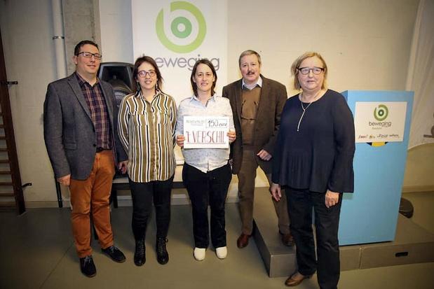 't Verschil krijgt 150 euro van Beweging.net Rekkem