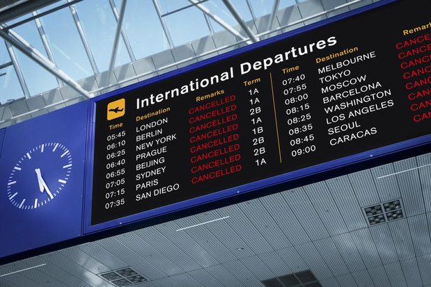 Terugbetaling vliegtickets eisen kan niet bij organisator én vliegmaatschappij