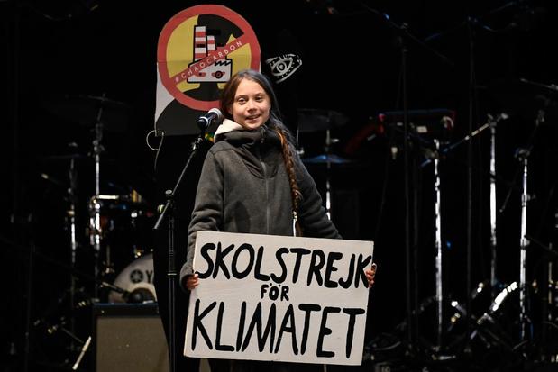 Duizenden deelnemers op klimaatbetoging met Greta Thunberg in Madrid