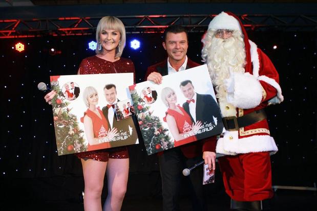 Eveline Cannoot en Filip D'Haeze brengen samen allereerste kerst-cd uit