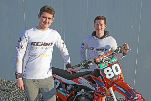Zwevegemse broers Soens zijn gebeten door motorcross