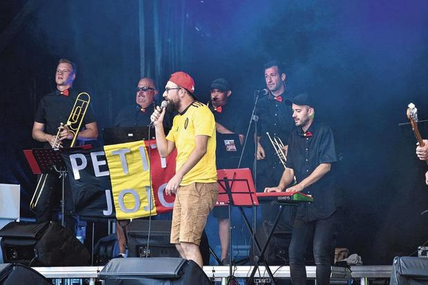Jérémie Ulens cartonne avec ses reprises en concert du Grand Jojo