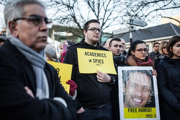 Le doctorant iranien de l'ULiège Hamid Babaei libéré après avoir purgé sa peine