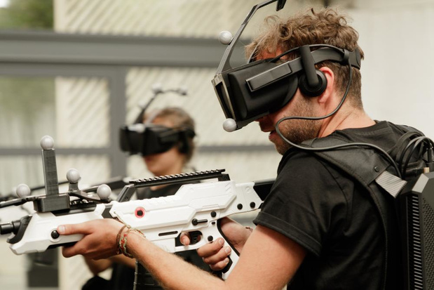 Howest campus Kortrijk opent VR-speelterrein
