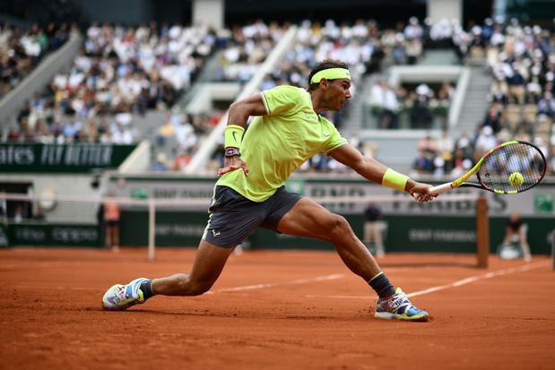Rafael Nadal pakt twaalfde eindzege op Roland Garros