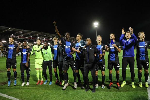 West-Vlaamse derby in achtste finales beker van België met Club Brugge - KV Oostende