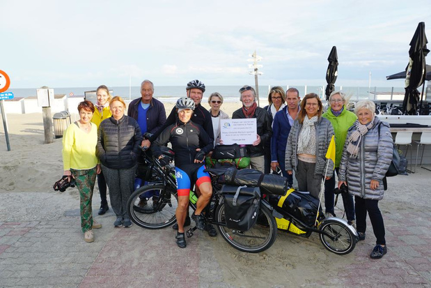 Bredens koppel fietst naar Zuid-Frankrijk voor jongeren met beperking
