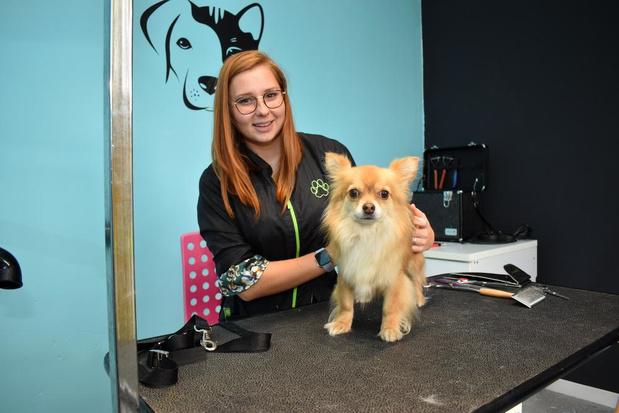 Sajda Serryn start trimsalon Paws and Tails