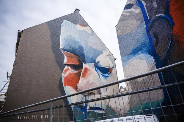 Streetart hotspots in hartje Antwerpen