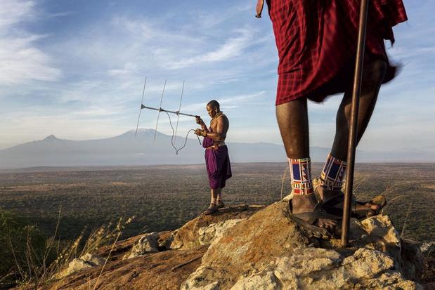 Masai en de leeuw