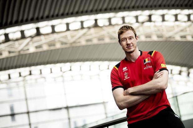 Red Dragon Sam Deroo voor het EK volley: 'Minder dan de kwartfinales zou een teleurstelling zijn'
