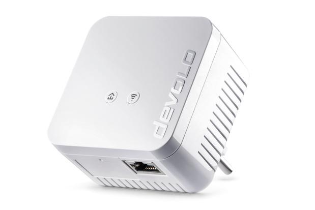 Kleine Powerline-adapter met ethernet-poort