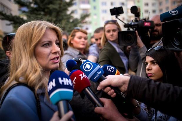 Liberale advocate Zuzana Caputova wint Slowaakse presidentsverkiezingen