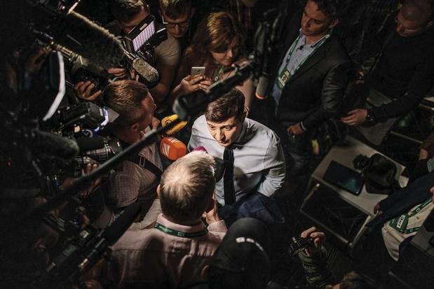 Volodymyr Zelensky, l'acteur ukrainien qui voulait être président (Reportage)