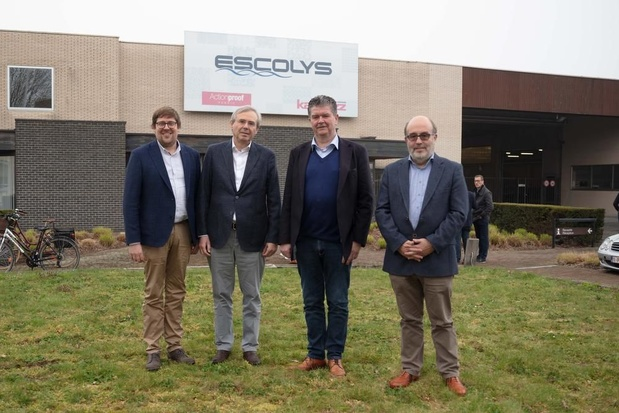 Uitleendienst van Anzegem verhuist als eerste naar Escolys