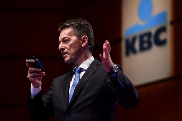 KBC boekt meer winst dan verwacht