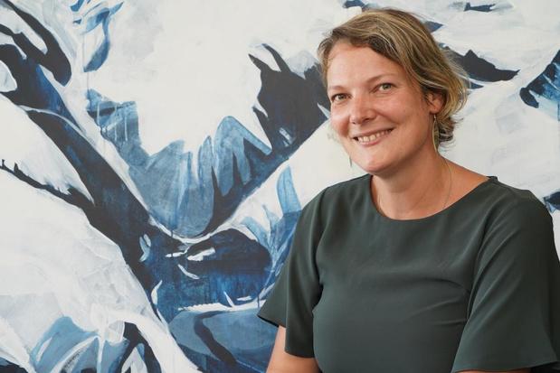 Lies Vanloocke stelt tot 2 oktober tentoon in de bibliotheek van Meulebeke
