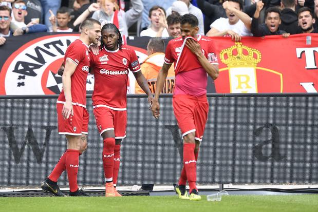 Antwerp pakt Europees ticket na winst tegen Charleroi