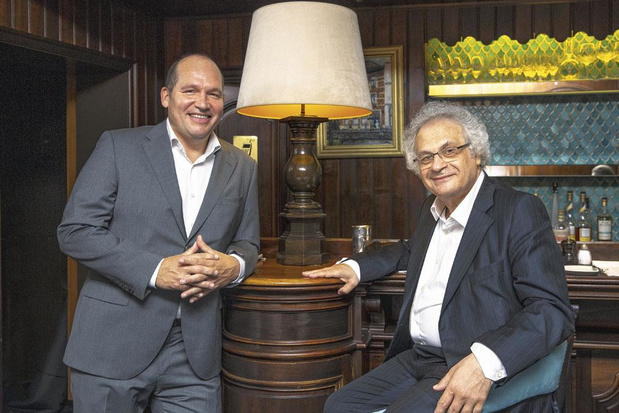 Nous avons réuni Philippe Close & Amin Maalouf: le bourgmestre et l'écrivain passent à table