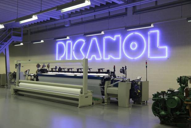 Aandeel Picanol geschorst op Brusselse beurs