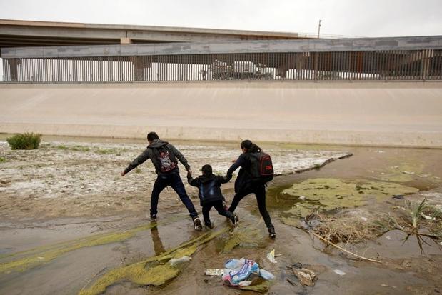 Meer dan 100.000 migranten opgepakt aan Mexicaanse grens in april