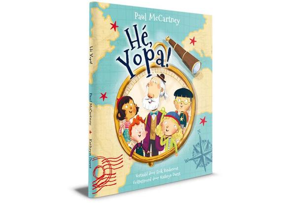 Ex-Beatle Paul McCartney schrijft kinderboek voor grootouders