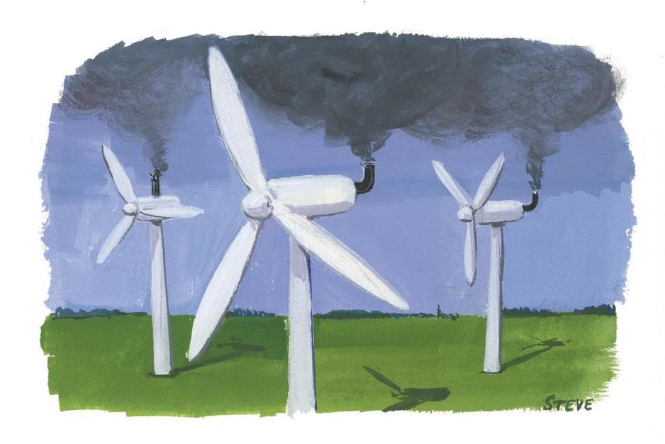 Factcheck: 'Windmolens stoten zwaar broeikasgas SF6 uit'