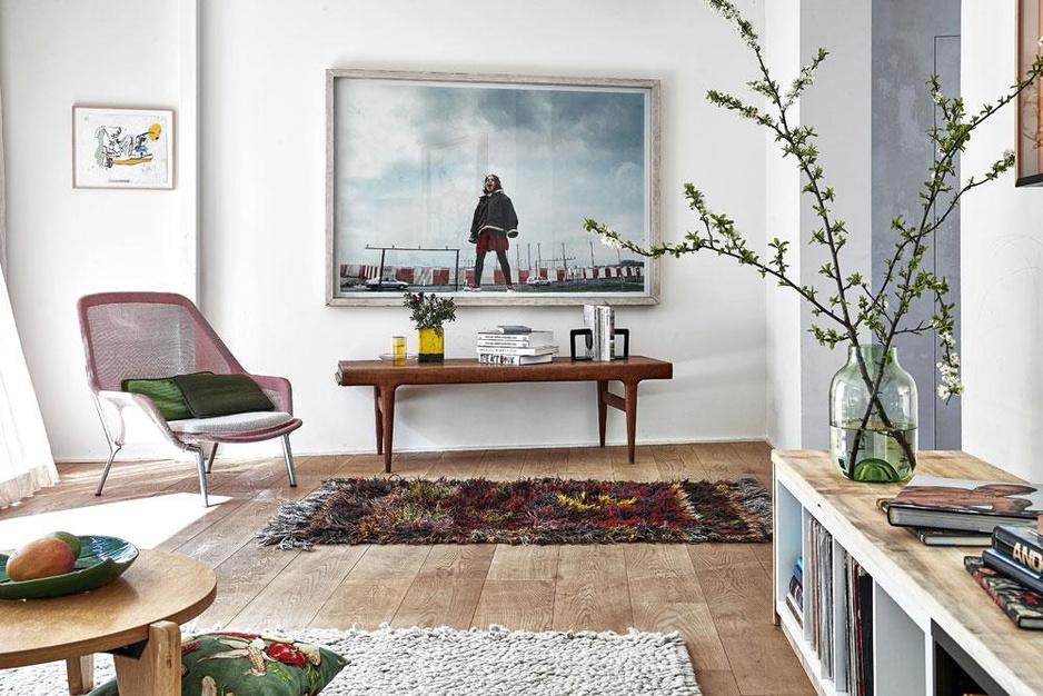 Thuis bij architect en kunstkenner Arthur Donck: 'Met design gaan we zo huiselijk mogelijk om'