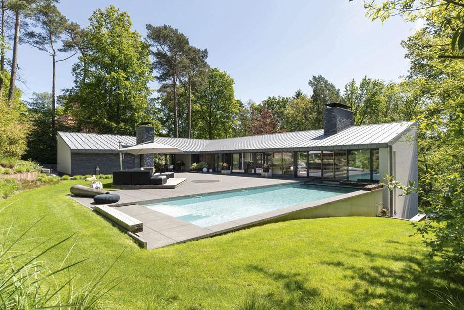 En images: dans le Brabant Wallon, une villa pour être en vacances toute l'année